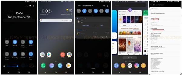 三星安卓9.0固件偷跑:同步曝光四款Galaxy S10