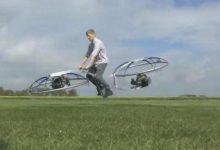 这位英国水管工鼓捣出一辆悬浮自行车 真飞起来了-微世界