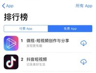 微信朋友圈助力 腾讯微视登顶App Store 超越抖音-微世界