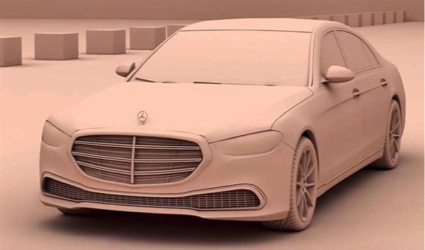 前脸风格大变!新一代奔驰S级假想图曝光:或取消标轴