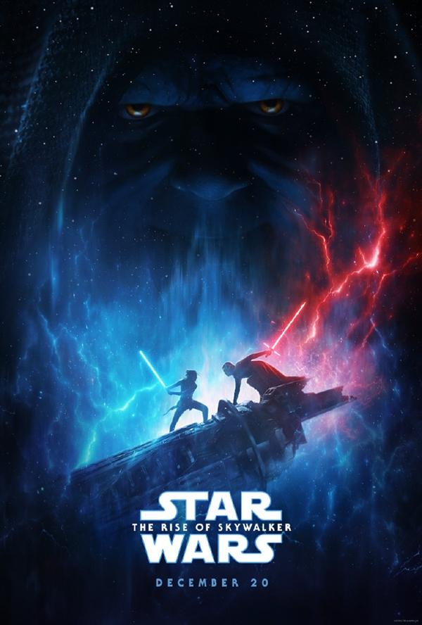 《星球大战:天行者崛起》发布全新预告海报:蕾伊大战凯洛·伦